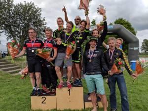 Winst voor Utrechtse Heuvelrug triathlon team